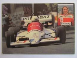 COURSE AUTOMOBILE ANNE BAVEREY CHAMPIONNE DE FRANCE FEMININE DE LA MONTAGNE 1981 .....PHOTO MORELLI GROUPE PRIMAGAZ LYON - Other