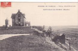 23071 SAINT JEAN LE THOMAS Pension De Famille Villa Jeanne D'Arc - Hebert Rouen - - France