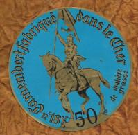 CHER  ETIQUETTE CAMEMBERT  JOAN OF ARC JEANNE D ARC LES AIX D ANGILLON BOURGES - Fromage