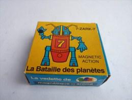 RARE boite VIDE - MAGNETIQUE LA BATAILLE DES PLANETE - 7-ZARK-7 1979 MAGNETO