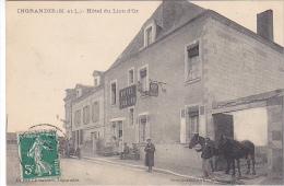 23073 INGRANDES SUR LOIRE - Hôtel Du Lion D'Or - Ed Gasnier -Vasselier - Proprietaire Gillot ? - France