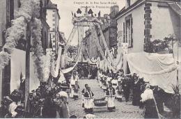 23074 GUERANDE - Fête-Dieu 1908 - Aspect Rue Saint Michel Pendant Procession- Coll. T. H. N