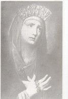 Venerata Immagine Dell'Addolorata (Parr. SS. Annunziata - P.S. Elpidio) , Con Preghiera Al Retro - Andachtsbilder
