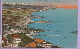 06  - Côte D´Azur à Vol D´aéroplane De Cannes à Nice - Non Classificati