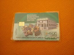 Phonecard On Phonecard - Greece Chip Sample Card (mint) - Timbres & Monnaies