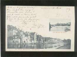 25 Besançon Les Quais Actuels Le Vieux Besançon Les Quais édit. Delagrange & Magnus , Voyagé En 1899 ,  Précurseur - Besancon