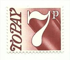 1974 - Gran Bretagna 84 Segnatasse, - Tasse