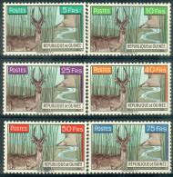 #3 - GUINEE - N° 54 à 59 - NEUFS - LUXE - ANTILOPE - FAUNE - Guinée (1958-...)