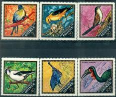 #3 - GUINEE - N° 440 à 445 - NEUFS SANS CHARNIERE - LUXE - OISEAUX - Guinée (1958-...)