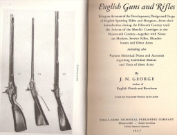 ENGLISH GUNS RIFLES ARME FEU ANGLAISE ANGLETERRE PISTOLET FUSIL ETUDE GUIDE COLLECTION