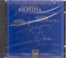 CD LES ETOILES DU PARADOU. BRAHMS   VIVALDI.  HAYDN.  Parrainage Du CCF - Klassik