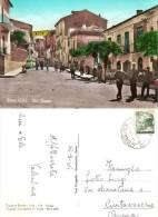 CARTOLINA SERRE - VIA ROMA ANIMATA - COLORI ANNI 60 VIAGGIATA - Monuments