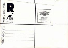 Ciskei Ongebruikte Omslag Voor Verzending Per Aangetekend Schrijven - Ciskei