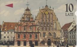 LATVIA(Alcatel) - Traditional Buildings/Riga, Tirage 5000, Used - Latvia