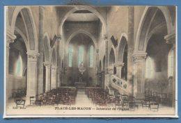 71 - FLACE Les MACON -- Intérieur De L'Eglise - France
