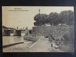 Auxonne L´Abreuvoir Et La Petite Saône - Auxonne