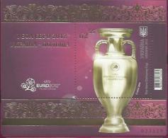 UA 2012-1234 UEFA CUP, UKRAINA, S/S, MNH - Ukraine