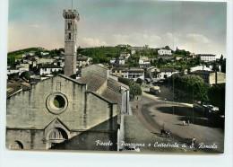 FIESOLE  - Panorama E Cattedrale Di S. Romola. - Italie