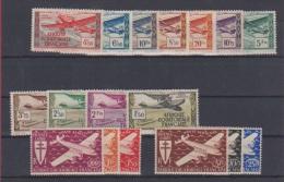 AEF  //  Lot De Timbres Poste Aérienne //  Neuf Et Neuf Avec Trace De Charnière - A.E.F. (1936-1958)