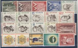 Berlin Michel Nr. 159 - 178 ** postfrisch / Jahrgang 1957 komplett