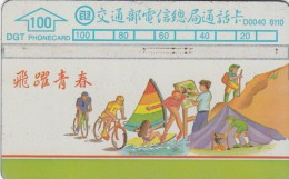 TAIWAN - Sports, ITA Telecard(D0040 8110), Used - Taiwan (Formose)