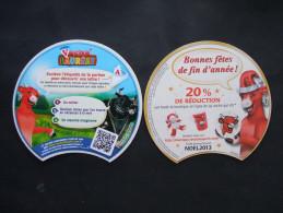 Etiquette Intercalaire Vacha'Lauréat LA VACHE QUI RIT - Bonnes Fêtes De Fin D'année ! - Fromage