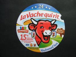 Etiquette Fromage LA VACHE QUI RIT - 15€ En Bons De Réduction Kiri Babybel - 24 Portions - Fromage