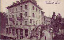 74 - HAUTE SAVOIE - Annecy - Grand Hôtel D'Angleterre - Carte Animée - - Annecy