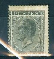 N° 17 A Xx - 2 Pt Tâche Pas Reflet En Bas1865/66 - 1865-1866 Profile Left