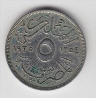 @Y@  Egypte  10 Mil   1935   (2654) - Egypte