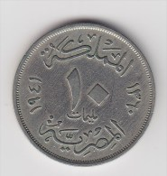 @Y@  Egypte  10 Mil   1941   (2655) - Egipto