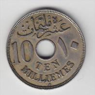 @Y@  Egypte  10 Mil   1917   (2662) - Egypte