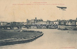 TOULOUSE AVIATION - N° 3 - MORIN TRAVERSANT LA GARONNE EN VUE DU PONT-NEUF ET DE LA PRAIRIE DES FILTRES - ....-1914: Vorläufer