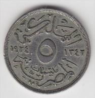 @Y@  Egypte  5  Mil   1924   (2665) - Egypte