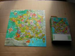 PETIT PUZZLE  210 PIECES  28 X 30 CM  LA FRANCE ILLUSTREE  PUB / PUBLICITE  LA REDOUTE  REF : 040 5949 - Puzzles