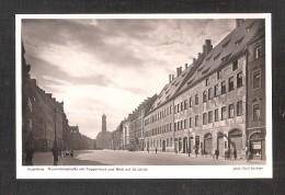 Augsburg Maximilianstrasse Mit Fuggerhaus Und Blick Auf St. Ulrich Unused - Augsburg