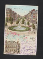 Litho-AK Gruß Aus Köln 1902 - Köln