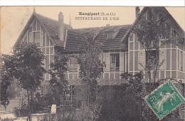 23085 Ile De RANGIPORT :Hôtel Restaurant De L'Ile - Coll Jean - Café Billard - France
