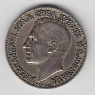 @Y@   Joegoslavie 2  Dinar  1925   (2660  ) - Yougoslavie