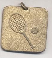 TENNIS TENIS  MEDALLA ARGENTINA CIRCA 1970  MEDAGLIA - Tokens & Medals