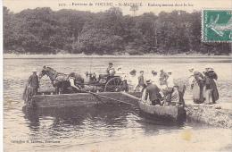 23088 Environs De POULDU - Saint-MAURICE - Embarquement  Bac -Laurent 3575 - Laita Attelage Cheval  - Le Pouldu