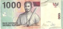 BILLETE DE INDONESIA DE 1000 RUPIAH DEL AÑO 2000  (BANKNOTE) - Indonesia
