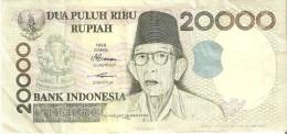 BILLETE DE INDONESIA DE 20000 RUPIAH DEL AÑO 1998  (BANKNOTE) - Indonesia