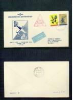 Jugoslawien / Yugoslavia / Yougoslavie  1960 JAT First Flight   Zagreb-Rome - 1945-1992 Socialist Federal Republic Of Yugoslavia