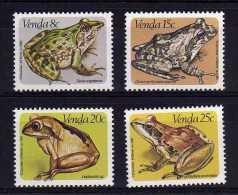 Venda - 1982 - Frogs - MNH - Venda