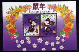 Tuvalu - 1996 - Chinese New Year/Year Of The Rat Miniature Sheet - MNH - Tuvalu