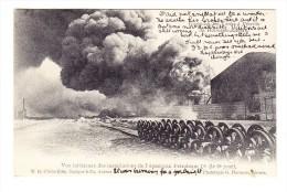 Anvers - Incendie Des Tanks à Pétrole De Hoboken-Anvers - Antwerpen