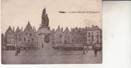 Brugge La Statue Royale Et Deconninck - Brugge