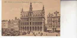 Bruxelles  La Grand Place  Et Maison Du Roi  L3 - Monumenten, Gebouwen