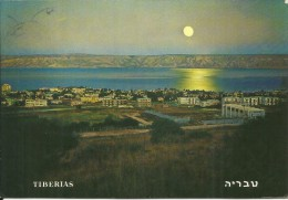 ISRAEL ISRAELE BETHLEHEM TIBERIAS LAKE OF GALILEE GOLAN MOUNTAINS POST CARD TIBERIADE LAGO DI GALILEA MONTAGNE CARTOLINA - Israel